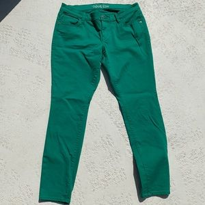 Old Navy Green Rock style jeans